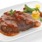 Braisé de bœuf sauce provençale à la farigoulette