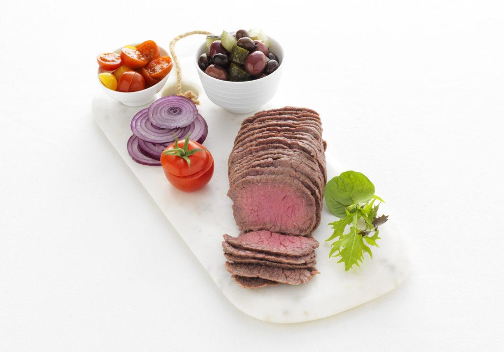 Tranche de r ti de b uf cuit surgel 200 g vf espri restauration - Cuisiner un roti de boeuf au four ...